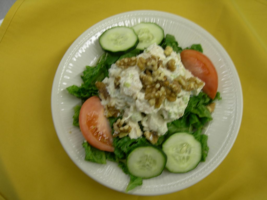 Walnut Chkn Salad